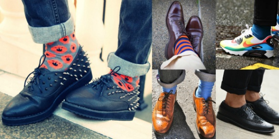брюки с обувью