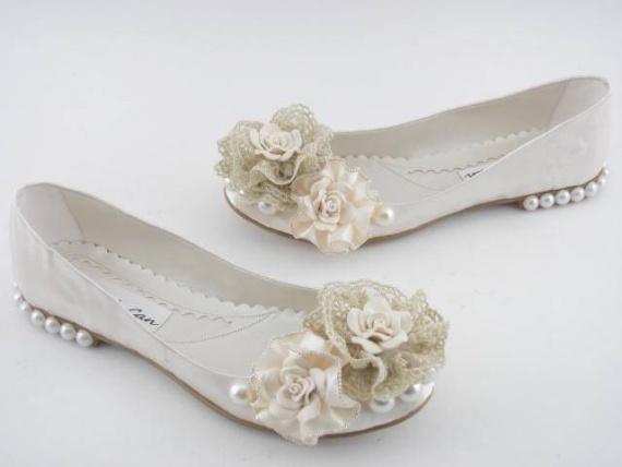 Свадебная обувь без каблука — выбор современной невесты!