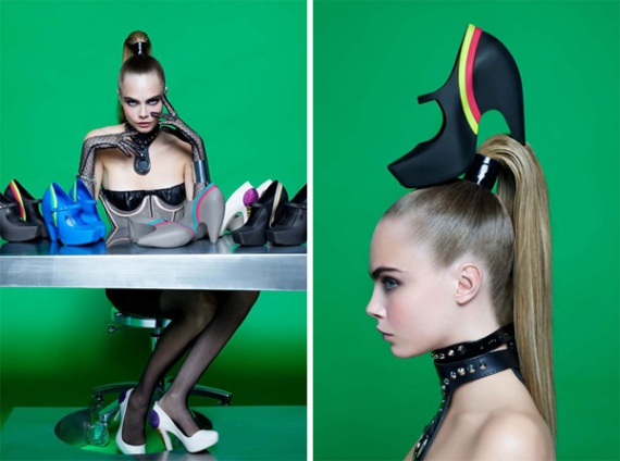 Пластиковые творения от Melissa и Karl Lagerfeld