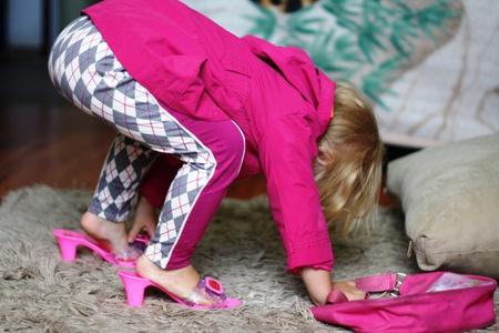 детские туфли на каблуках