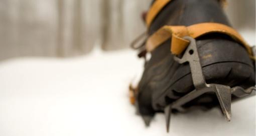 Как сделать, чтобы обувь не скользила на льду