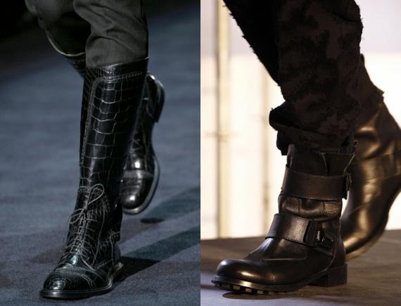 Модные мужские зимние сапоги
