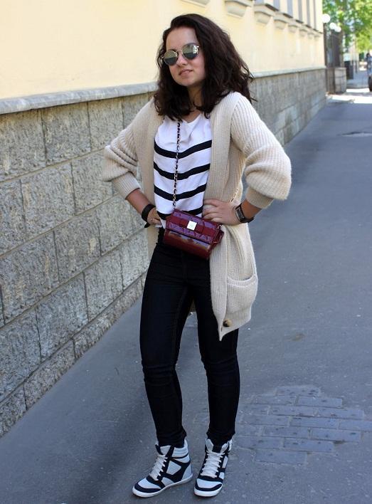 Сникерсы – носим правильно модную обувь
