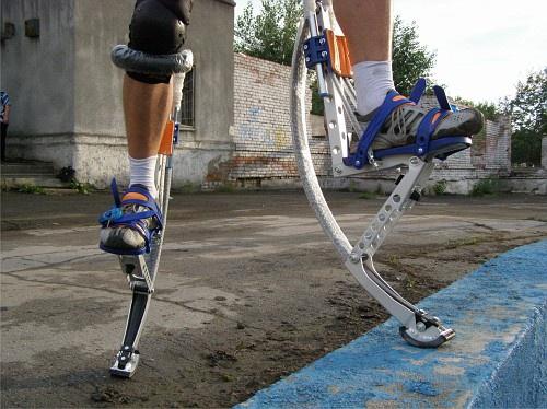 Пружины на ногах: кто-то точно допрыгается
