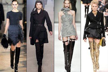 Модная обувь 2015: ботфорты
