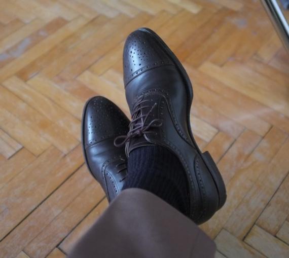 носки к туфлям
