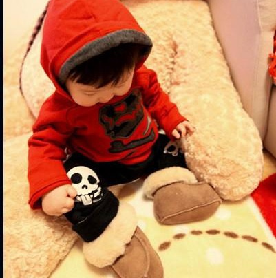 зимняя обувь для малыша до года