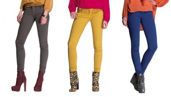 Как выбрать обувь к цветному комплекту