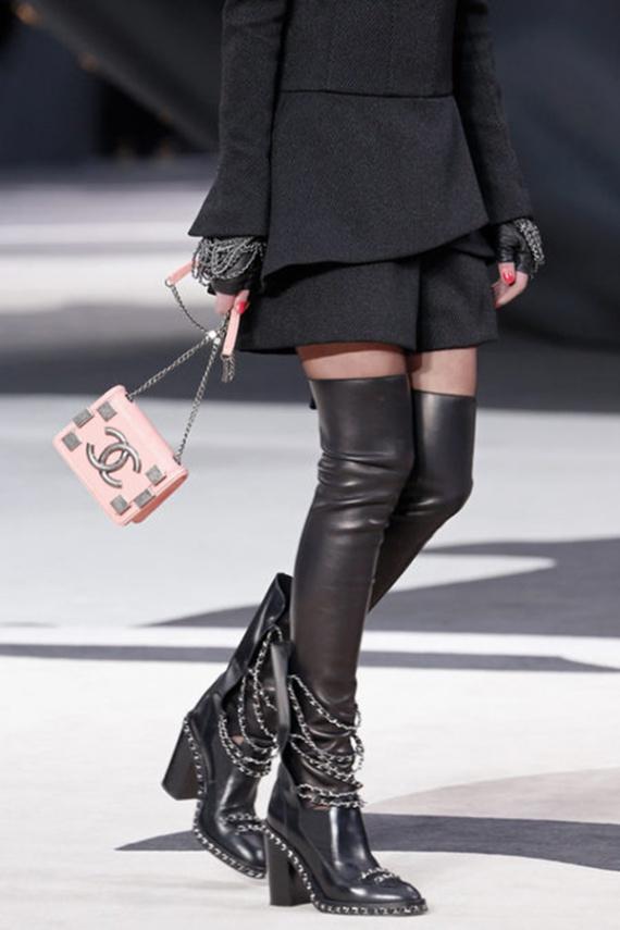 сапоги Chanel
