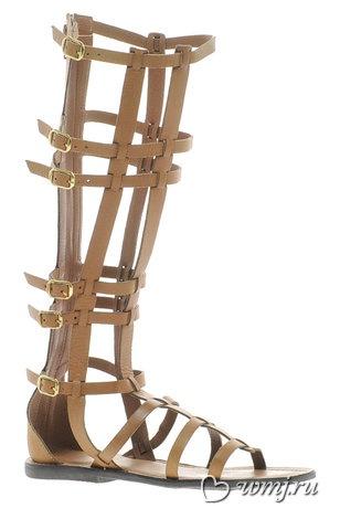 Сандалии-гладиаторы Asos (1 500 руб.)