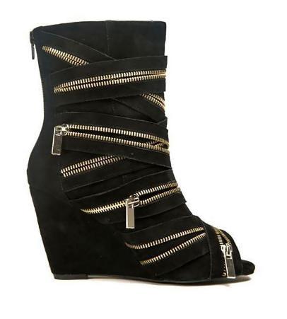 обувь на молнии