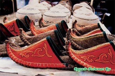 киргизская обувь