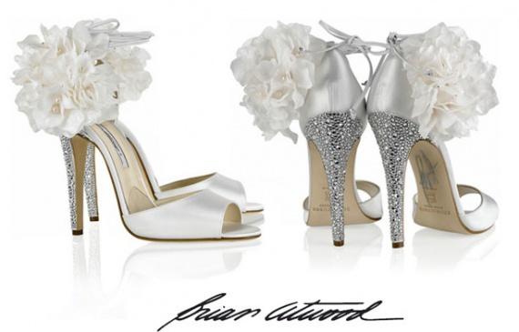 свадебная обувь от Brian Atwood