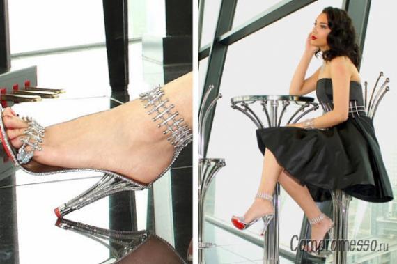 Реальные туфли Золушки от «House of Borgezie»
