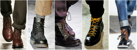 Какая мужская обувь будет на пике моды осенью-зимой 2014-2015 года?