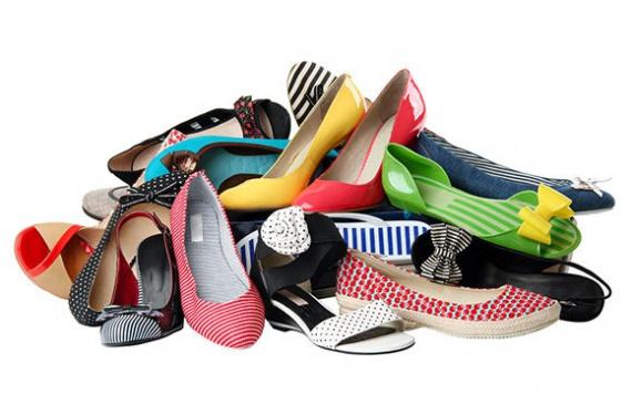 храним летнюю обувь зимой