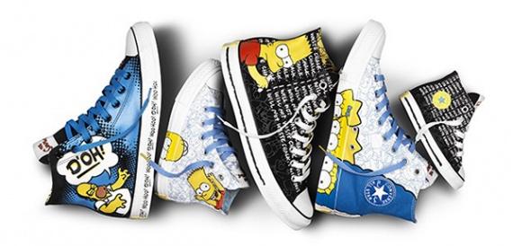 Convers и The Simpsons — совместная коллекция обуви