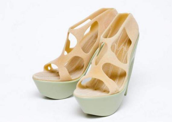«Распечатанная» обувь от Хун Чанг (Hoon Chung)