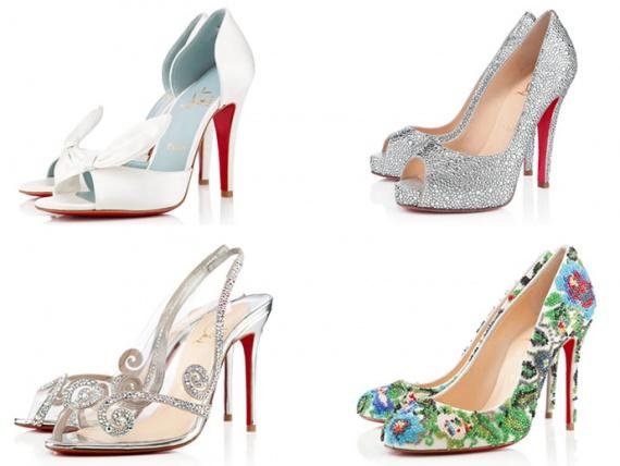 Свадебная коллекция обуви от Christian Louboutin 2013