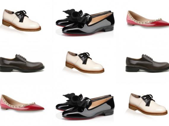 Гид по модной обуви осени-2013: низкий ход