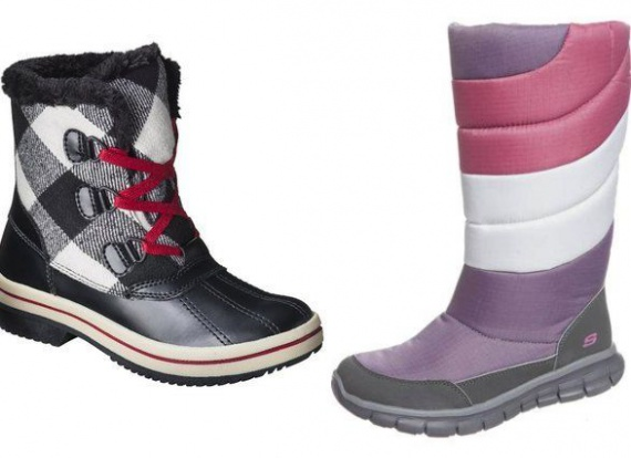 Ботинки-уточки