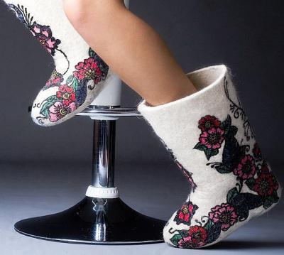 Зимняя исконно русская обувь - валенки, что нового?