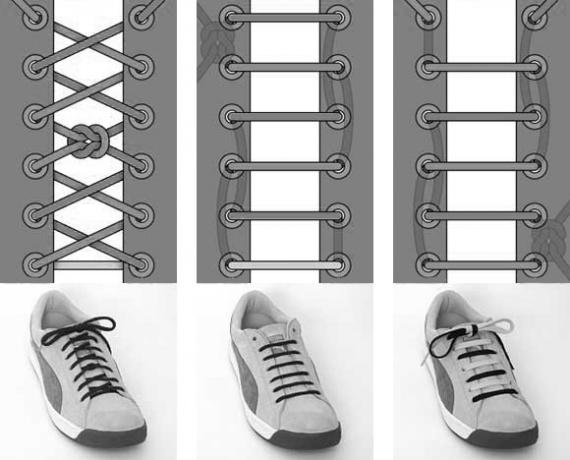 9 оригинальных способов завязывать шнурки