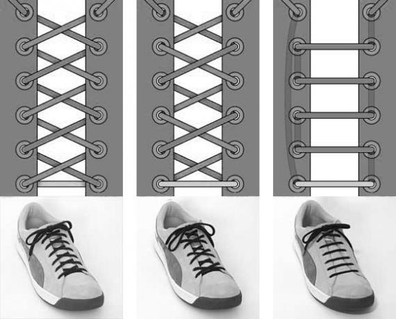 Чем смазать шнурки чтобы не развязывались