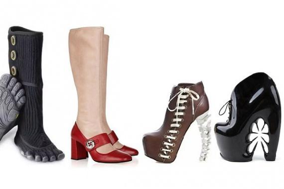 От копыт до голых ног: обзор самой оригинальной зимней обуви от современных дизайнеров