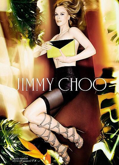 Длинноногая Николь Кидман разделась для рекламы элитной обуви