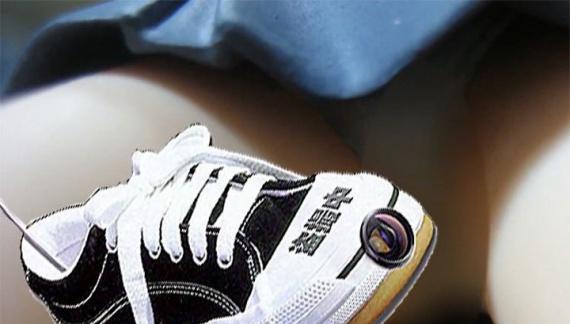 Японская полиция отбирает обувь со встроенной камерой