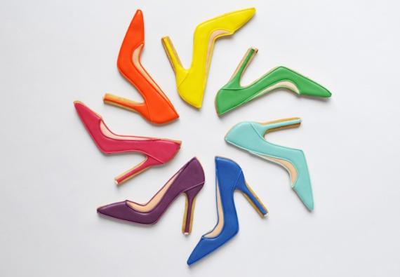 Съедобные туфельки от Jummy Choo