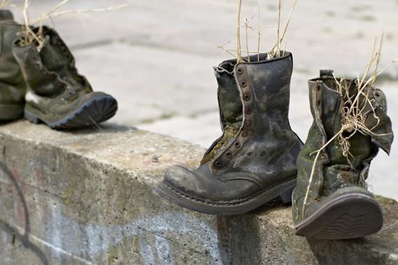 Рециклированные ботинки