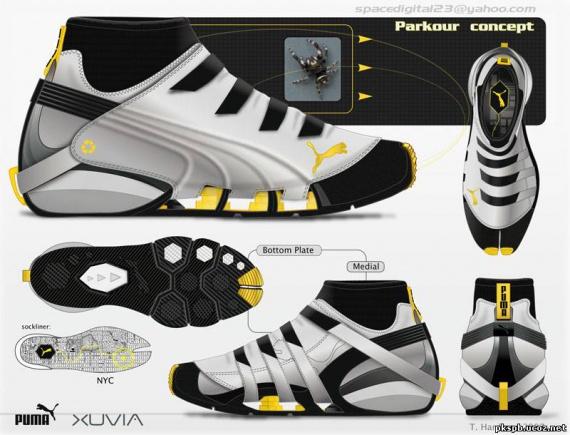 Обувь для паркура