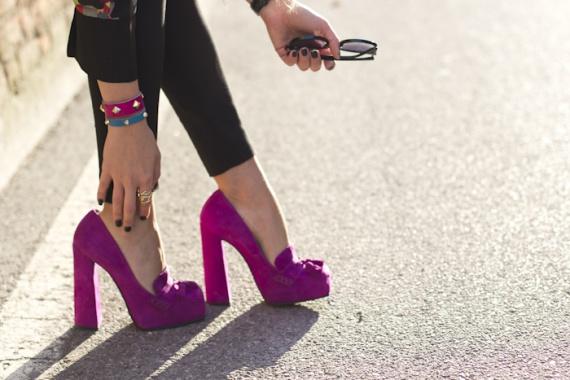 модная обувь осень-2013