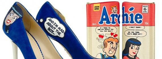 Новые туфли Charlotte Olympia с комиксами