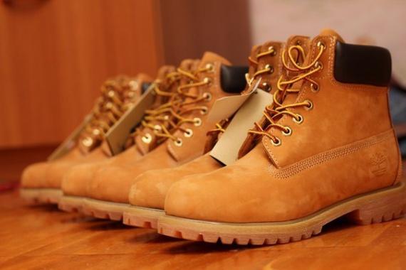Как чистить ботинки Timberland (Тимберленды)
