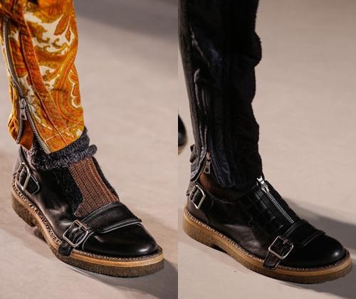 Модная мужская обувь для сезона зима 2014 года