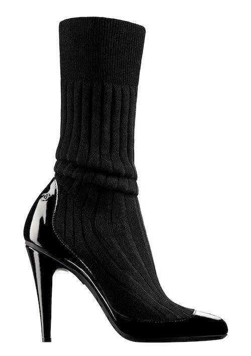 Туфли с носочками