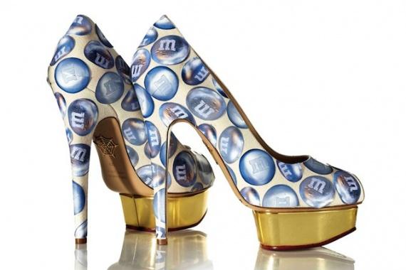 Дизайн туфель Charlotte Olympia от нью-йоркских школьников