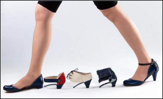 Самая универсальная сменная обувь: туфли-трансформеры Ze o Ze