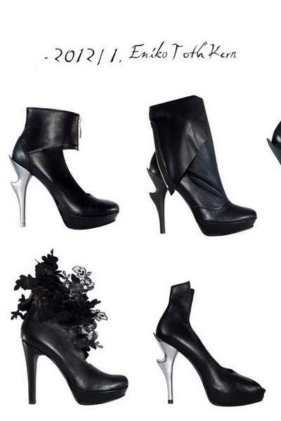 Власть и подчинение в коллекции обуви Энико Тот Керна