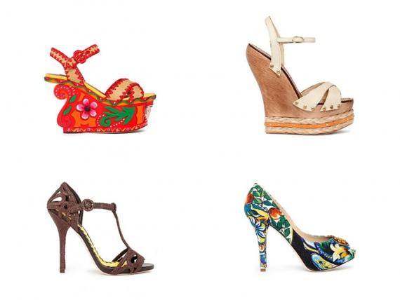 Dolce & Gabbana сезона весна-лето 2013