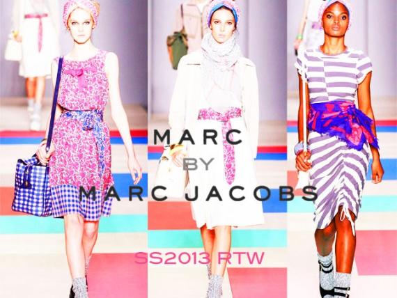 Женская обувь Marc by Marc Jacobs весна-лето 2013