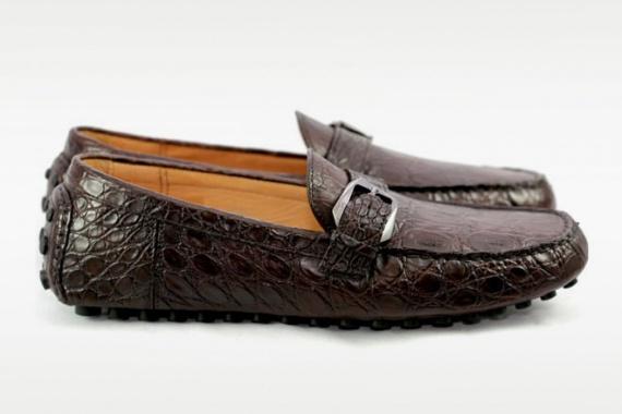 Коллекция обуви из экзотической кожи от Feru