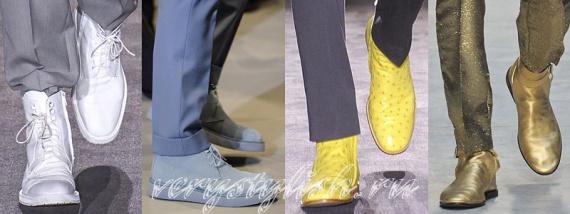 Мужские ботинки весна 2014