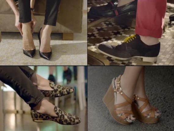 Обувь Louis Vuitton весна-лето 2014