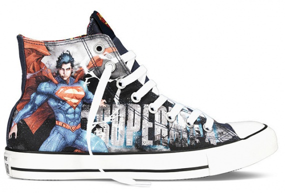 Бэтмен, Чудо-женщина и другие супергерои на кедах Converse