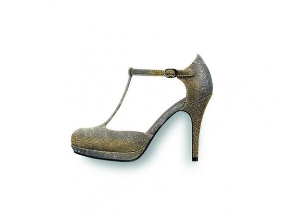 новогодняя обувь Tamaris