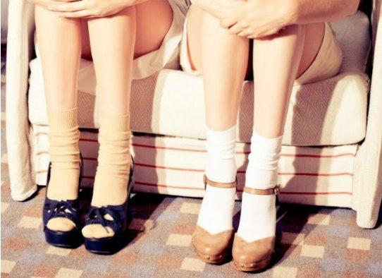 Модный тренд лета-2013: туфли + носки